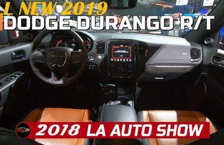 2019 Dodge Durango RT Exterior and Interior Walkaround – 2018 LA Auto Show Chula Vista California 2018