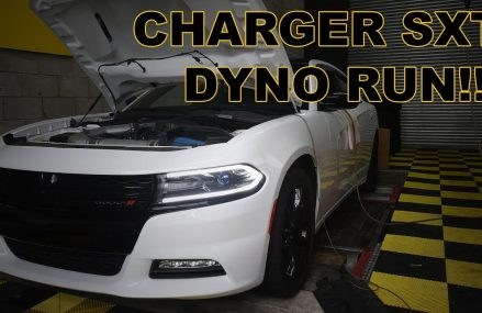 2016 Dodge Charger v6 8 speed on the Dyno! From 4694 Baileyville ME