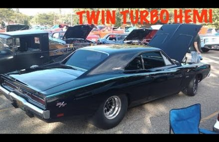 Twin Turbo Hemi Charger Shows Up To Cruise Night in 30609 Athens GA