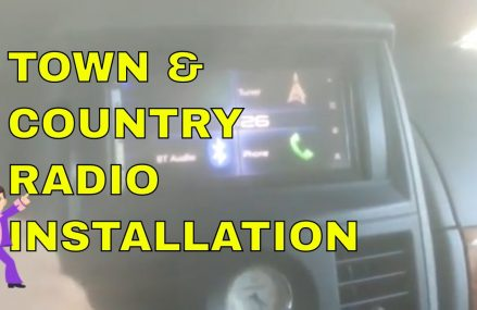 Chrysler Town & Country After-Market Double Din Radio Installation – (Step by Step Guide) For Maskell 68751 NE