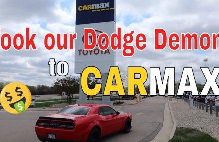 Dodge Demon goes to Carmax Local Area 78717 Austin TX