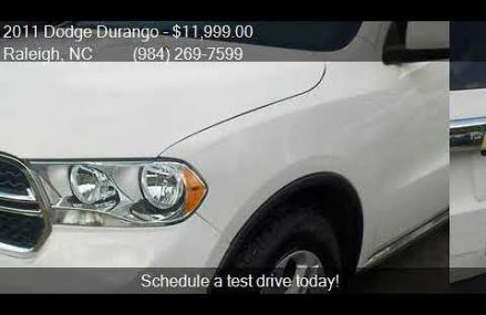 2011 Dodge Durango Express AWD 4dr SUV for sale in Raleigh, Garland Texas 2018