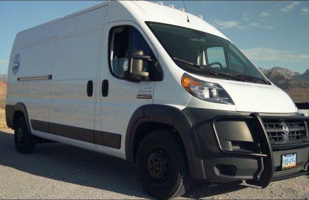 Van Life: Nomadic Soul Traveller's Custom Dodge Promaster Tour in New York City 10010 NY