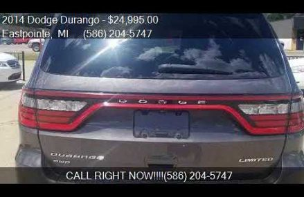 2014 Dodge Durango Limited AWD 4dr SUV for sale in Eastpoint Tempe Arizona 2018