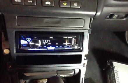 2000 Acura TL jvc Bluetooth radio usb aux. no cd kd-x255bt From Monroeton 18832 PA