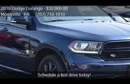 2016 Dodge Durango R/T AWD 4dr SUV for sale in Morrisville, Omaha Nebraska 2018