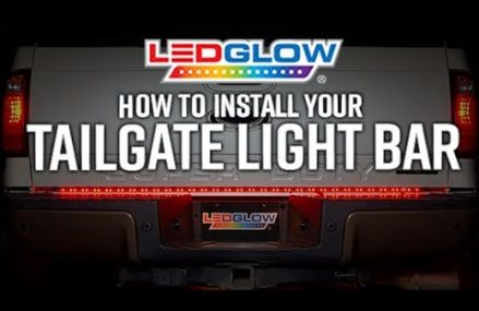 LEDGlow's  LED Tailgate Light Bar Installation Colorado Springs Colorado 2018