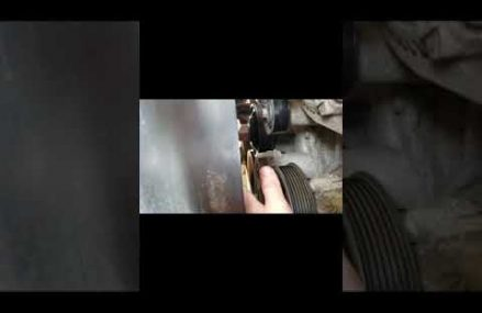2011 Dodge ram serpentine belt change (EASY) Around Streets in 68067 Walthill NE