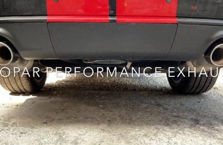 2018 DURANGO SRT STOCK EXHAUST VS MOPAR PERFORMANCE EXHAUST Sacramento California 2018