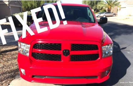 How to fix your ac 2013 Dodge Ram Hemi Found at 85250 Scottsdale AZ