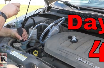 Day 4 of 30 How-To Flush Power Steering Fluid DIY 2011 Chrysler Town and Country Near Marquez 77865 TX