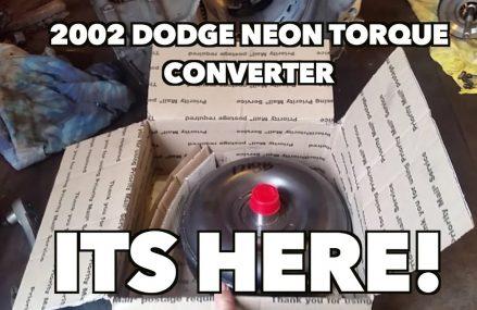 Dodge Neon New Torque Converter Arrival. Getting close! -Part 6 For Marlette 48453 MI