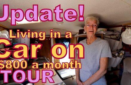 UPDATE: Dee Living on $800 a month in a Cargo Trailer Local Mc Grath 99627 AK