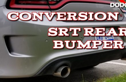 Dodge Charger Rear Bumper Conversion to SRT Scat Pack Hellcat Rear Bumper. Around Zip 73832 Arnett OK