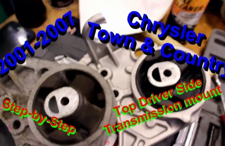 2001-2007 Chrysler Town & Country Top Driver Side Trans Mount Install Local Monument 88265 NM