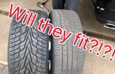 Will 275 tires fit on a Dodge Charger/Challenger? // June 2nd meet info at 95603 Auburn CA