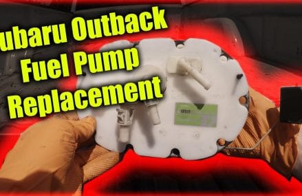 Subaru Outback Fuel Pump Replacement at New Vienna 52065 IA
