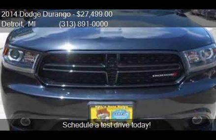 2014 Dodge Durango R/T AWD 4dr SUV for sale in Detroit, MI 4 Pasadena California 2018