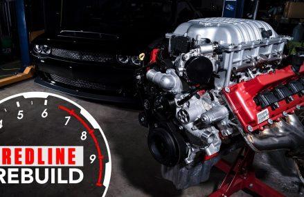 Engine build time-lapse 840-hp Dodge Demon Hemi V-8   Redline Rebuilds – S3E1 Near Las Vegas 89170 NV
