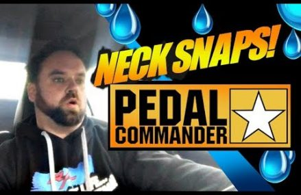 Pedal Commander Install // Test Drive in 27916 Aydlett NC