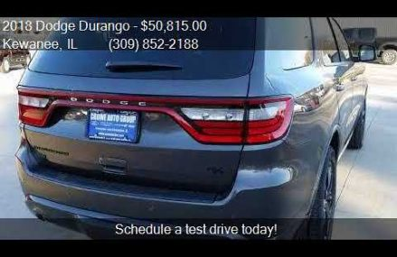 2018 Dodge Durango R/T AWD 4dr SUV for sale in Kewanee, IL 6 Thousand Oaks California 2018