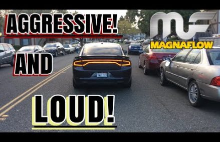 THE MAGNAFLOW MUFFLER SOUNDS SO GOOD! | 2016 CHARGER SE in 74421 Beggs OK