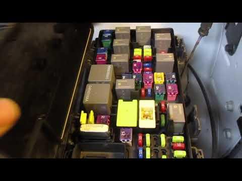 FUSE BOX Relay LOCATION Dodge Caravan 2009 2010 2011 2012 2013 2014 2015  2016 2017 2018 2019 2020 in New Haven 6532 CT ⋆ BlueDodge.comBlueDodge.com
