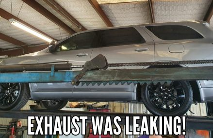 2019 Dodge Durango R/T Blacktop Edition   Exhaust leak! Lexington-Fayette Kentucky 2018