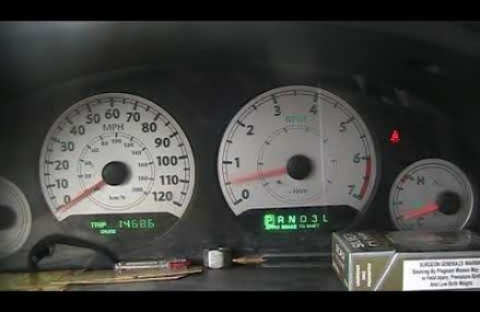 2006 Chrysler Town and Country Dash Problems in Mark Center 43536 OH