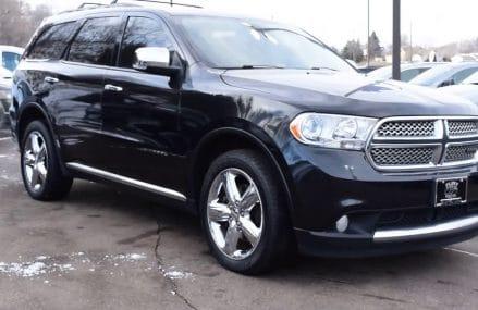 2013 Dodge Durango AWD 4dr Citadel – Used SUV For Sale – St. Paul, MN Alexandria Virginia 2018