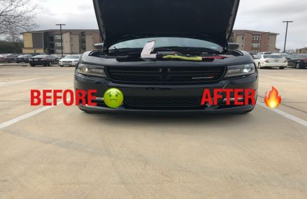 2015-18 Dodge Charger headlight installation *BEHIND THE SCENES* in 51006 Battle Creek IA