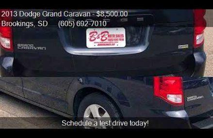 2013 Dodge Grand Caravan Minivan for sale in Brookings, SD 5 For Los Angeles 90029 CA