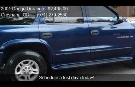 2001 Dodge Durango  for sale in Gresham, OR 97230 at Price I San Jose California 2018