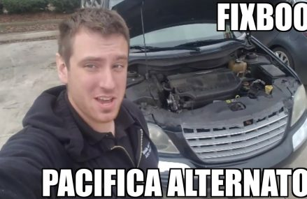 "Alternator 04-08 Chrysler Pacifica Replacement ""How to"" From Manchaca 78652 TX"