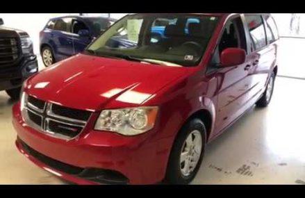 2017 Dodge Grand Caravan GT Van – Red – Stock US582815   #RelyOnATA   @RelyOnATA at Malaga 8328 NJ
