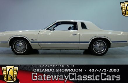 1977 Dodge Charger Gateway Orlando #1171 From 75411 Arthur City TX