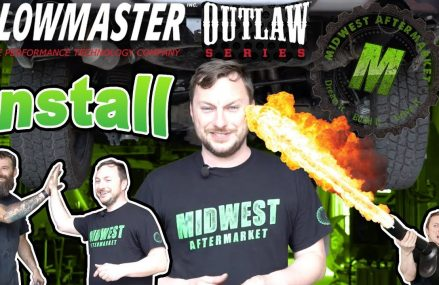 Install of the Flowmaster Outlaw Muffler on Dodge Ram 1500 Local 44691 Wooster OH