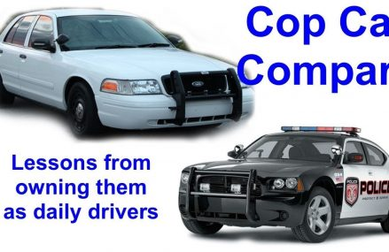 Comparing the Ford Crown Vic and Dodge Charger police cars daily drivers Near 77520 Baytown TX