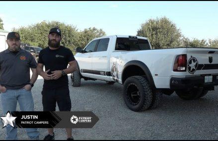Patriot Campers – USA RAM 3500 Dually Build at 25285 Wallback WV