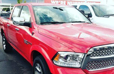 My new truck! Ram 4×4 Eco diesel From 85357 Wenden AZ