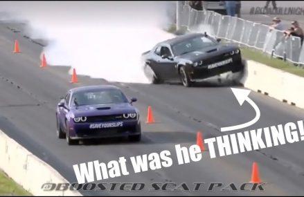 Richard Rawlings Hellcat Crash Reaction!!!! From 84301 Bear River City UT