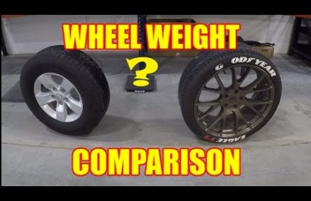 What is the WEIGHT DIFFERENCE  between 17 and 24 inch WHEELS ? – TruckTalk #24 From 55985 West Concord MN