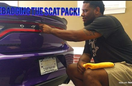 How to remove emblems/badges off your Scat Pack! in 97102 Arch Cape OR