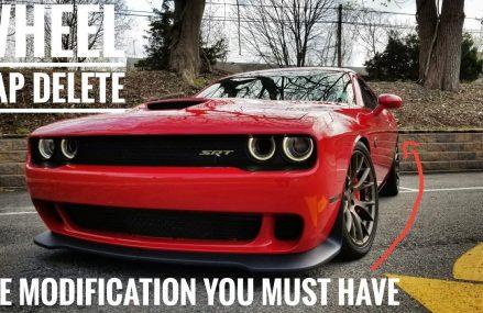 Do You Hate Wheel Gap? Dodge Challenger Hellcat Lowering at 27205 Asheboro NC