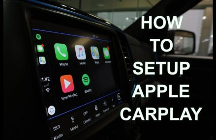 How To Setup Apple Car Play – Ram 1500 in 98860 Wilson Creek WA
