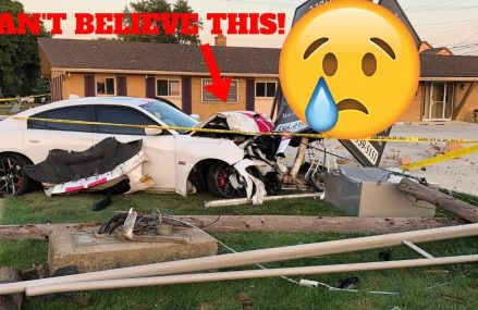 MY FRIEND CRASHED & TOTALED HIS CHARGER SCATPACK! *EMOTIONAL* Local Area 73004 Amber OK