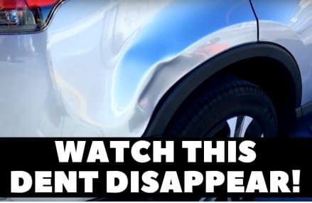 WATCH THIS DENT DISAPPEAR ! Near 17972 Schuylkill Haven PA
