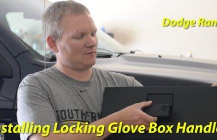 Installing Mopar Locking Glove Box Handle – Dodge Ram – 4th Gen Local Area 53593 Verona WI