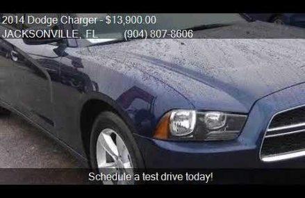 2014 Dodge Charger SE 4dr Sedan for sale in JACKSONVILLE, FL Near 37304 Bakewell TN