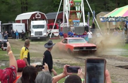 John Schneider Jumping General Lee first time at 31707 Albany GA